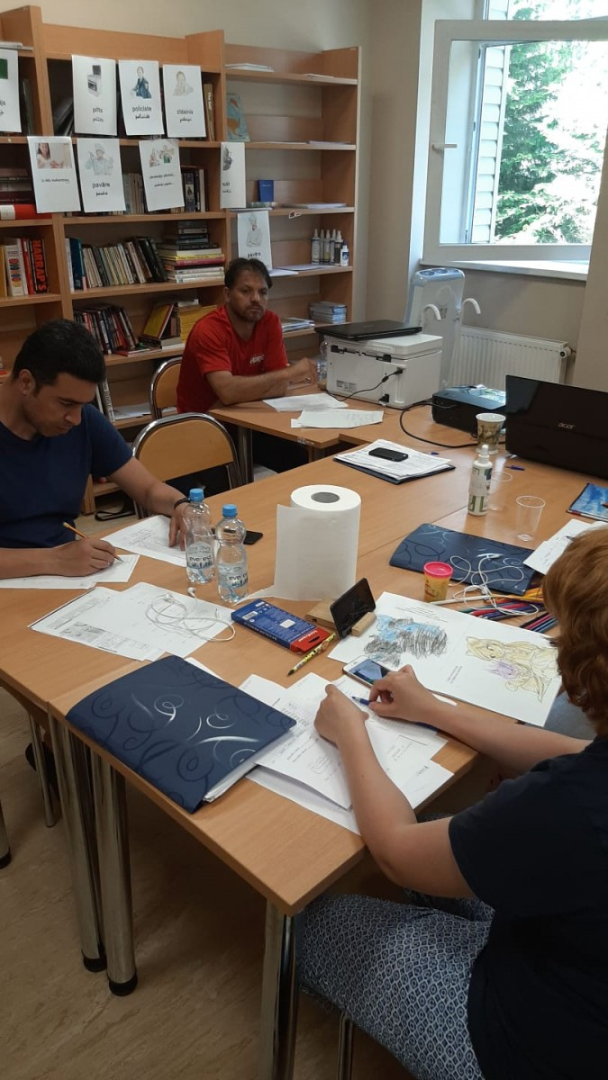 Latviešu valodas mācību kursa nodarbība 26.06. | Patvērums Drošā Māja