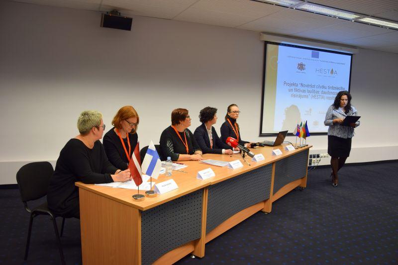 HESTIA press conference | Patvērums Drošā Māja