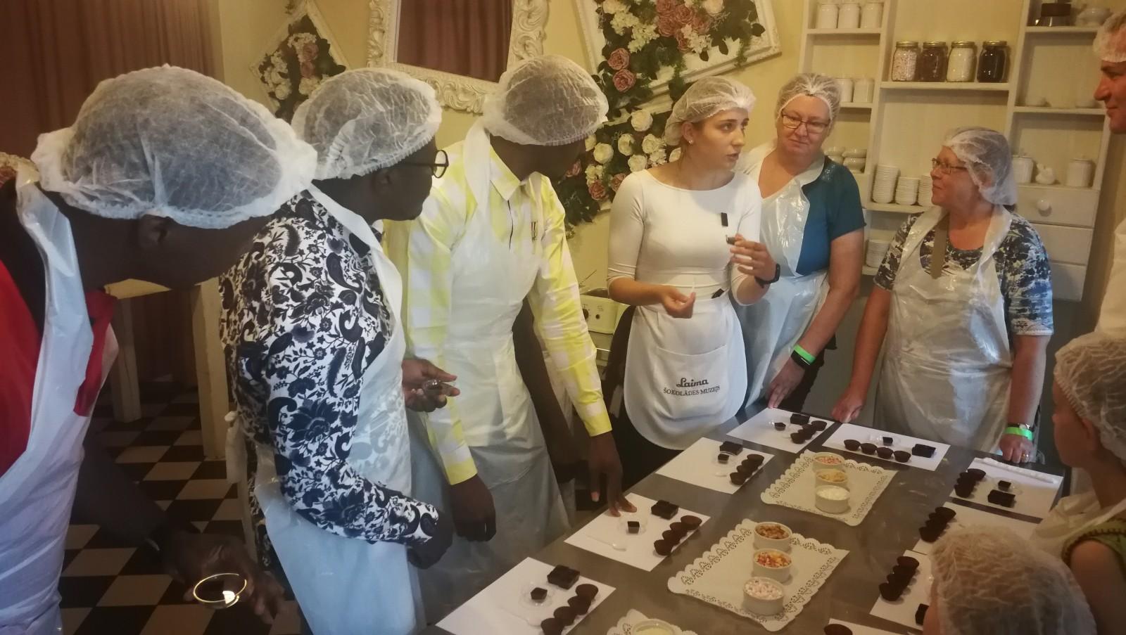 Šokolādes muzeja apmeklējums 12.grupa | Patvērums Drošā Māja