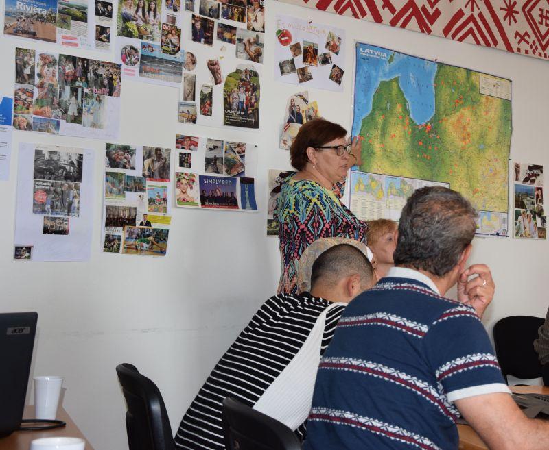 Nodarbības par Latviju septembris | Patvērums Drošā Māja