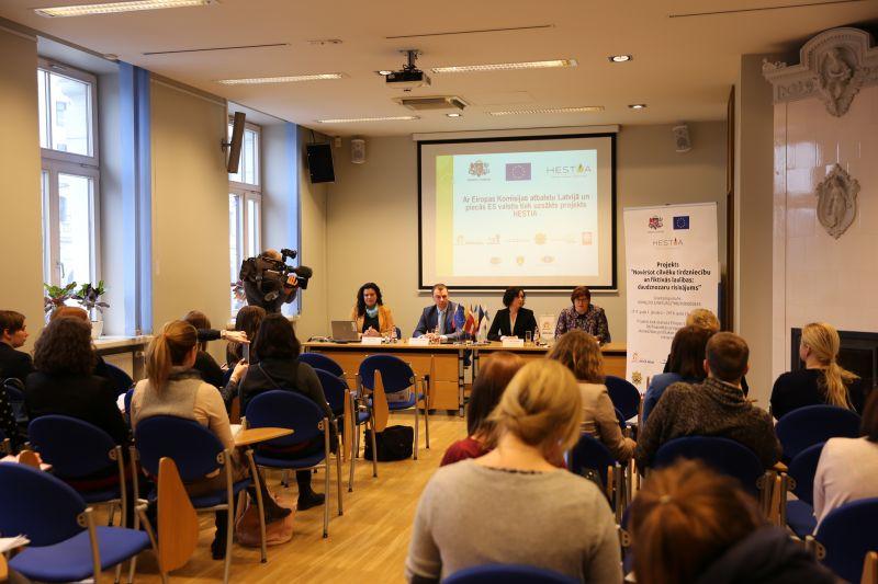 Latvijā un 5 ES valstīs uzsākts projekts HESTIA | Patvērums Drošā Māja