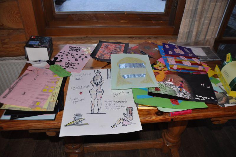 Vizuālā darbnīca par cilvēku tirdzniecību, 8. aprīlis