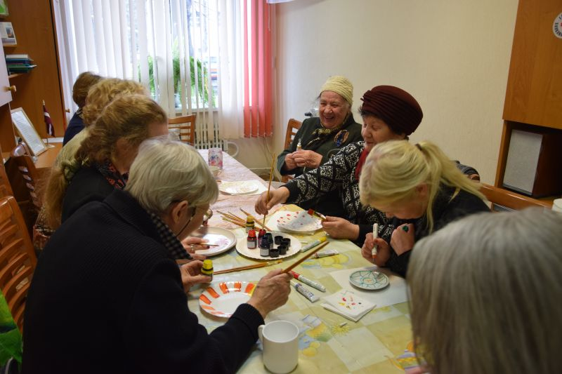Творческая мастерская для сениоров 19.04. | Patvērums Drošā Māja