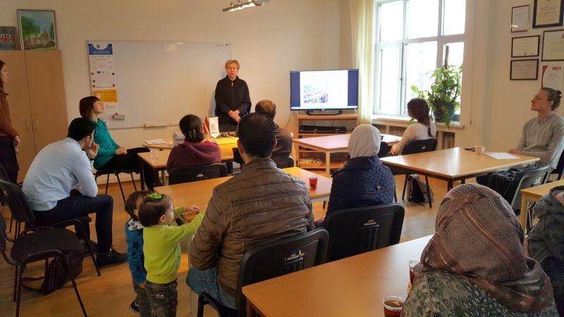 Nodarbība par Latviju | Patvērums Drošā Māja