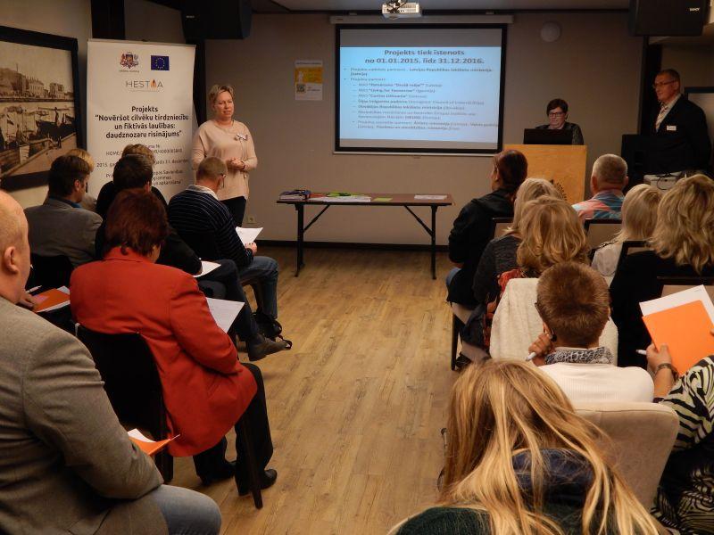 Multiplikatoru apmācības Liepājā 1.diena | Patvērums Drošā Māja