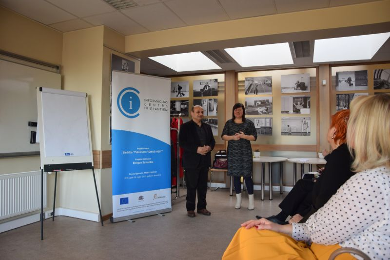 Семинар-дискуссия в Добеле | Patvērums Drošā Māja
