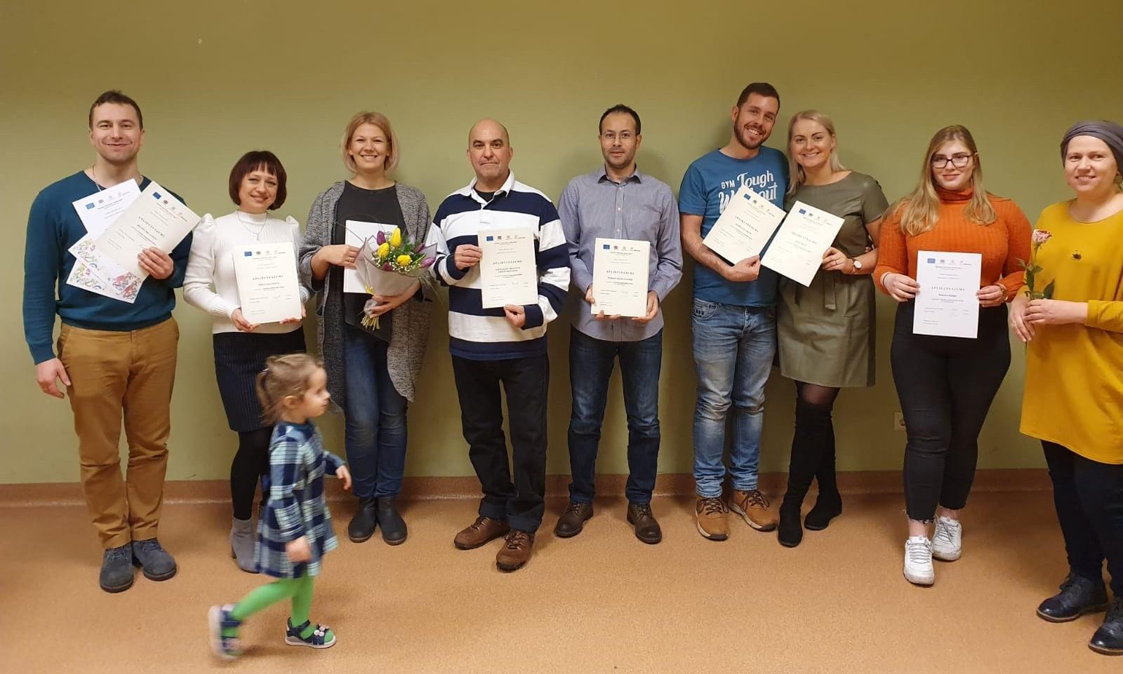 Latviešu sarunvalodas klubiņa Liepājā noslēguma pasākums | Patvērums Drošā Māja