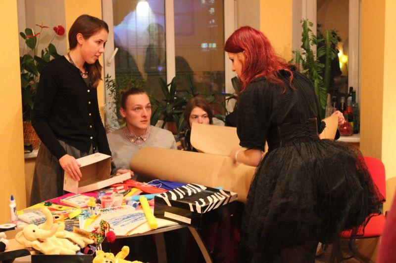 "Gift wrapping workshop ""Star in the East"" | Patvērums Drošā Māja"