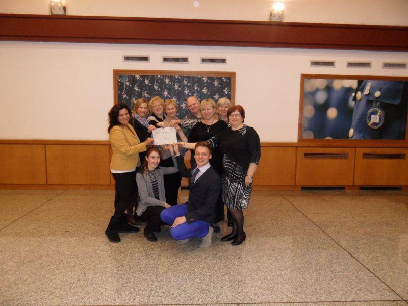 Eiropas Noziedzības novēršanas balva 2014   Patvērums Drošā Māja