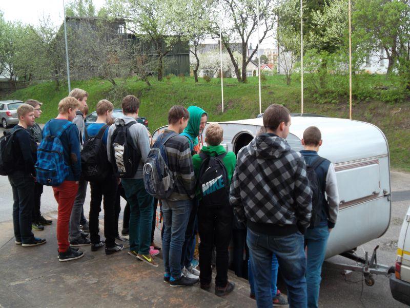 Info trailer in schools of Alūksne! | Patvērums Drošā Māja
