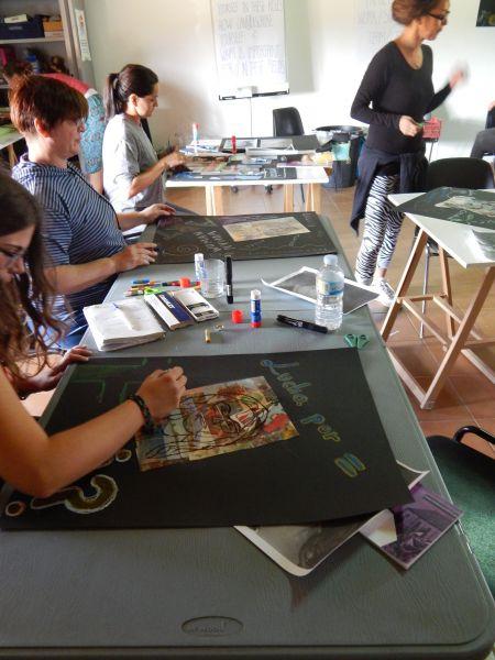 Sienu apgleznošana Spānijā – integrācija caur mākslu | Patvērums Drošā Māja