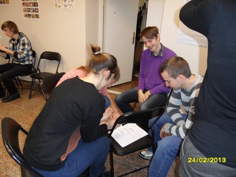 Brīvprātīgo apmācības 24.02.2013.
