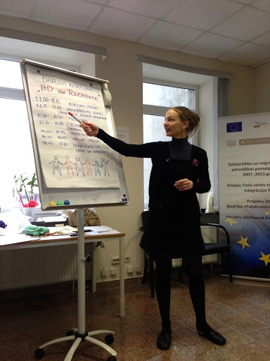 Volunteer training, 03.03.2013.