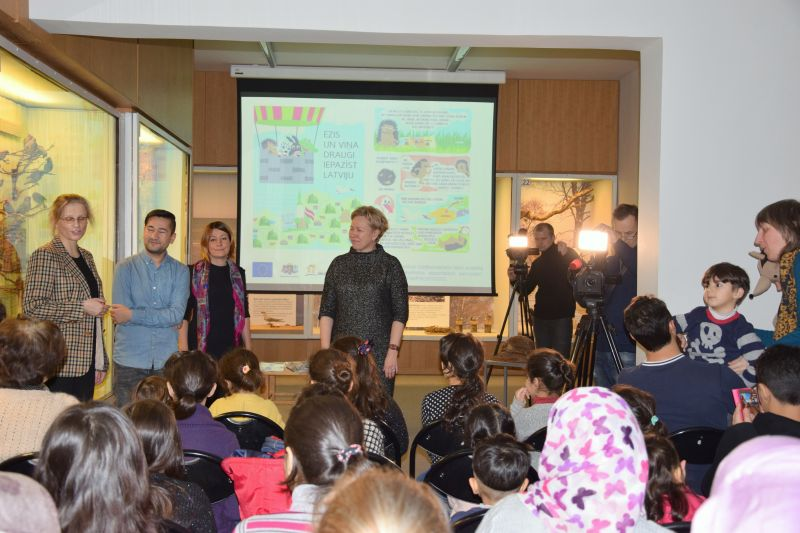 Introduction of an educational material for children | Patvērums Drošā Māja