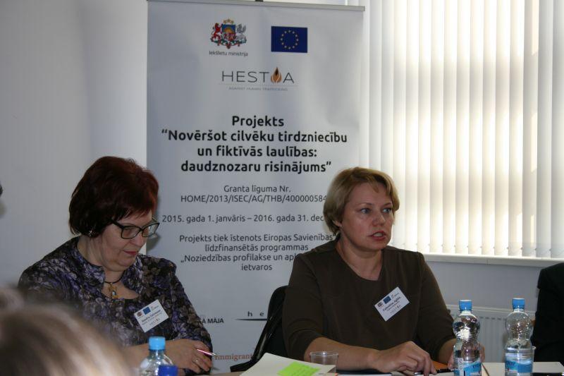 HESTIA projekts, sanāksme | Patvērums Drošā Māja