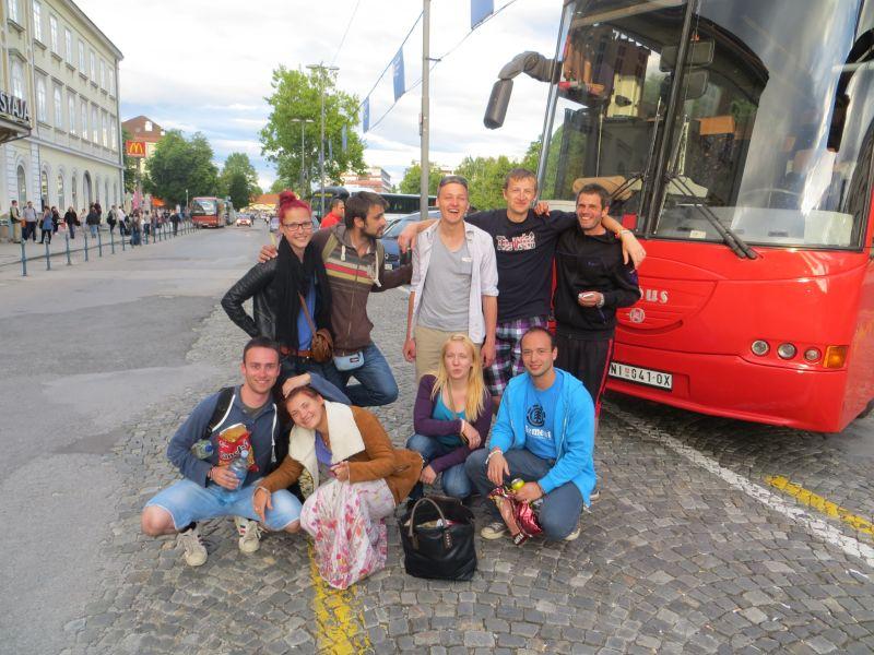 Наши волонтеры в Словении 25.05.-06.02. | Patvērums Drošā Māja