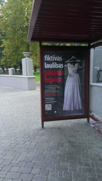 Кампания против торговли людьми в г. Даугавпилс.