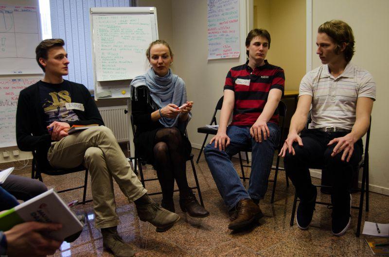 Обучение добровольцев 22.03.2014  | Patvērums Drošā Māja