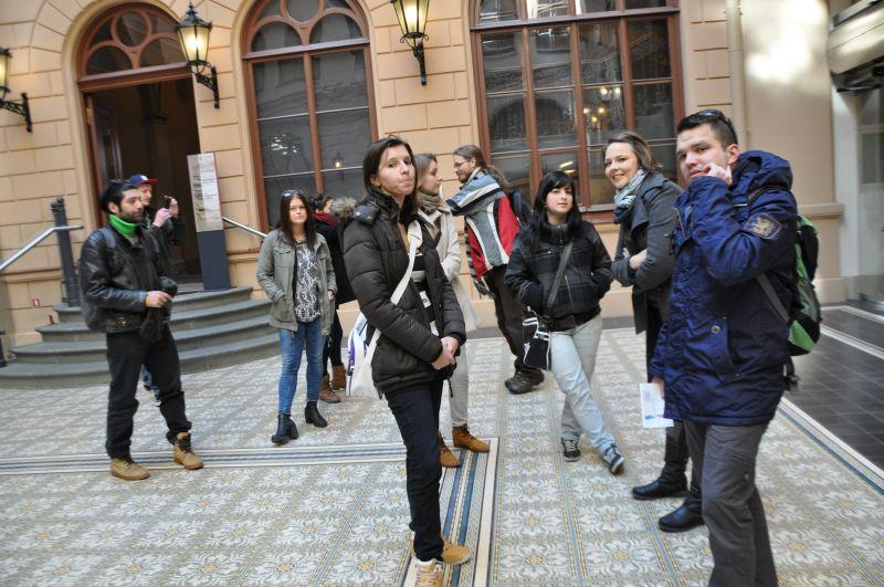 Eiropas jaunieši iepazīst Rīgu, 10. aprīlis.