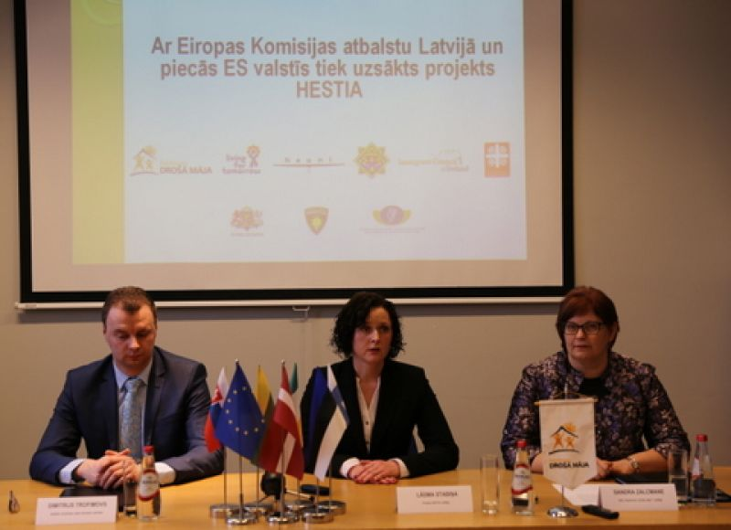 Project HESTIA, human trafficking, shame marriages| Patvērums Drošā Māja