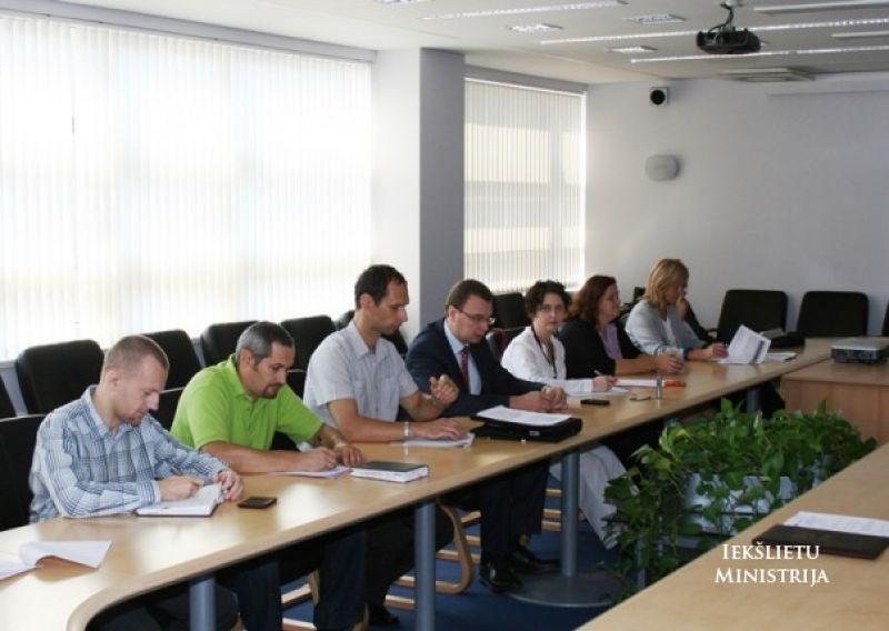 Заседание рабочей группы МВД 9.13. | Patvērums Drošā Māja