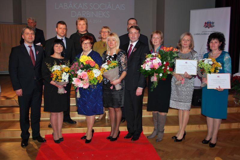 Лучший социальный работник Латвии 2014 | Patvērums Drošā Māja