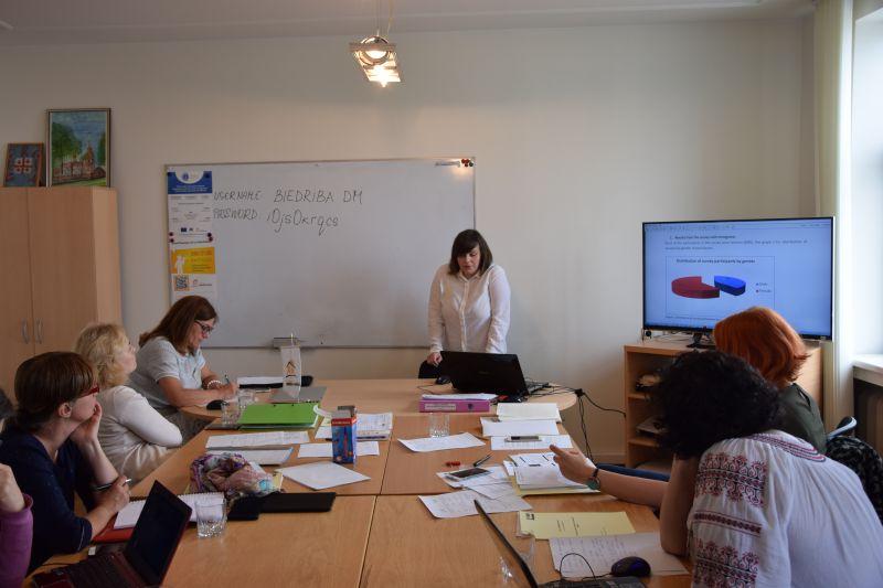 Meeting of  the project partners | Patvērums Drošā Māja