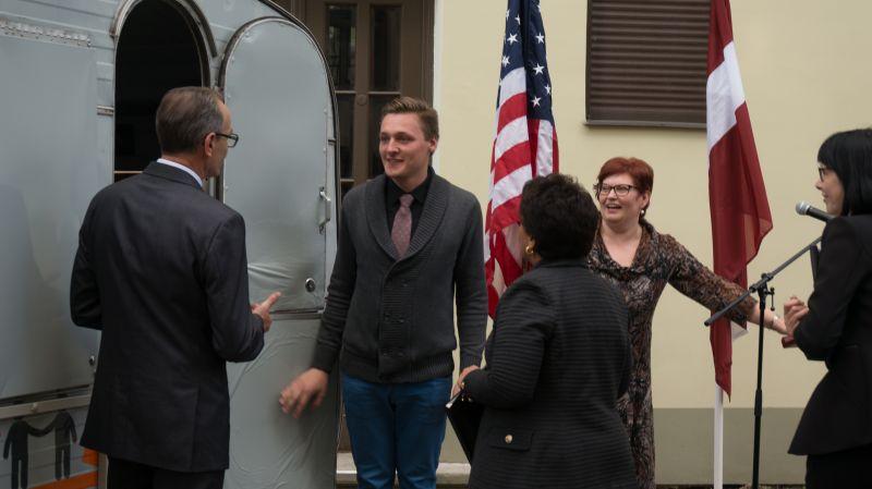 ASV ģenerālprokurores vizīte 02.06. | Patvērums Drošā Māja