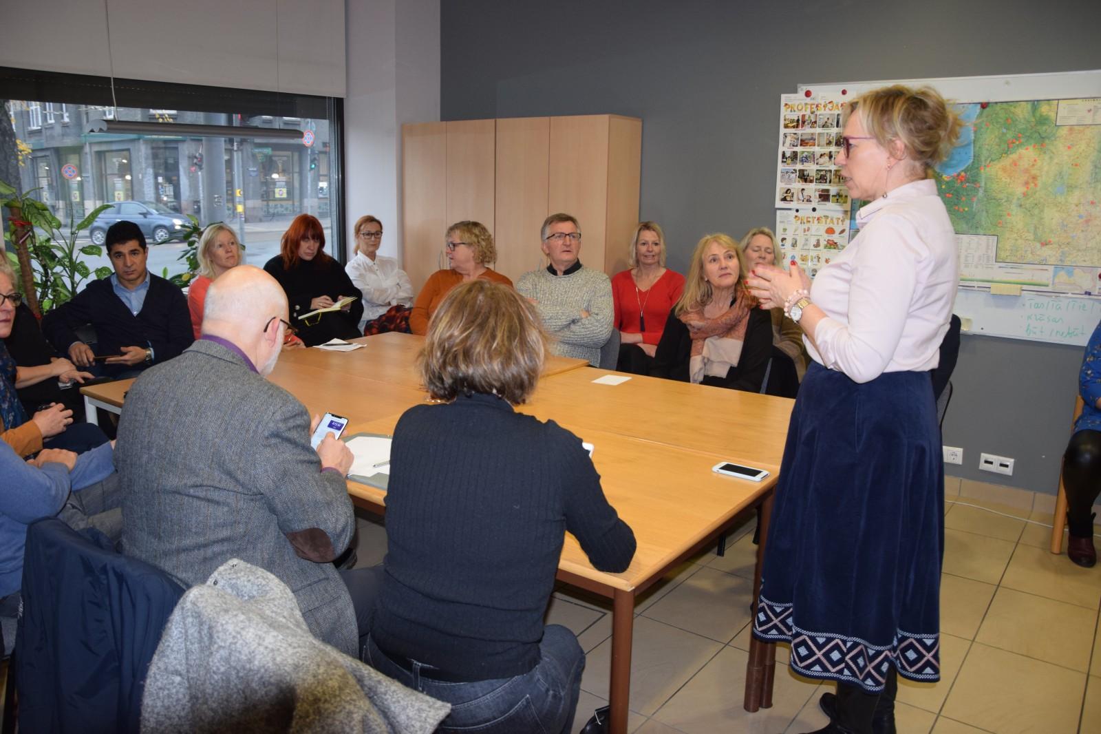 Biedrībā viesojas delegācija no Norvēģijas | Patvērums Drošā Māja