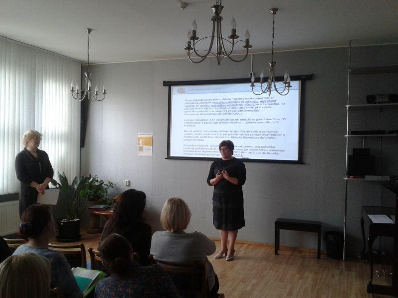Gita Miruškina, Sandra Zalcmane