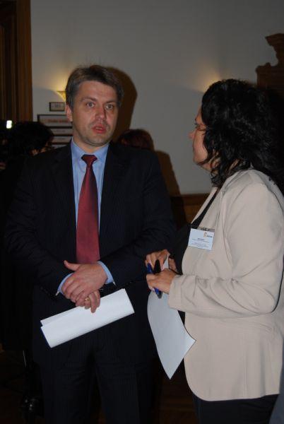 Правозащитник Юрис Янсонс и Раса Салиня