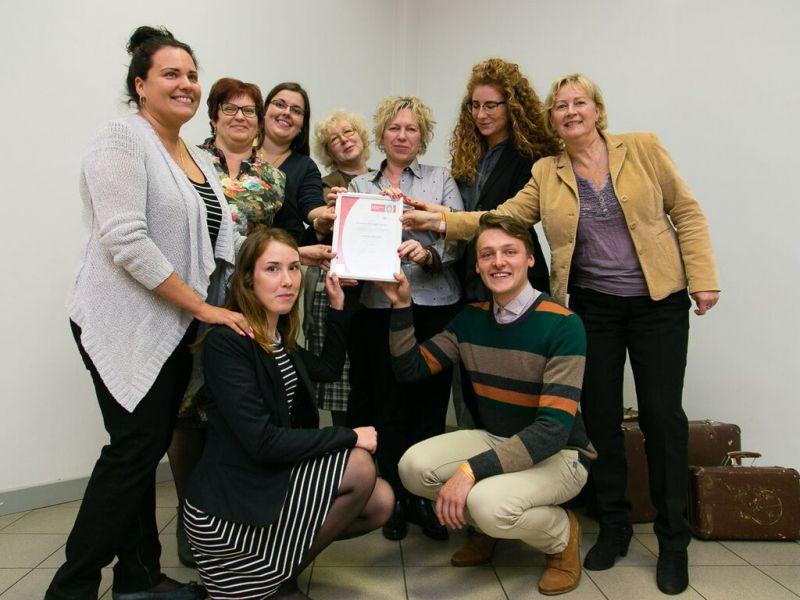 Вручение сертификата ISO 9001 | Patvērums Drošā Māja