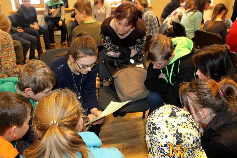 Forum theatre lessons in Madona | Patvērums Drošā Māja