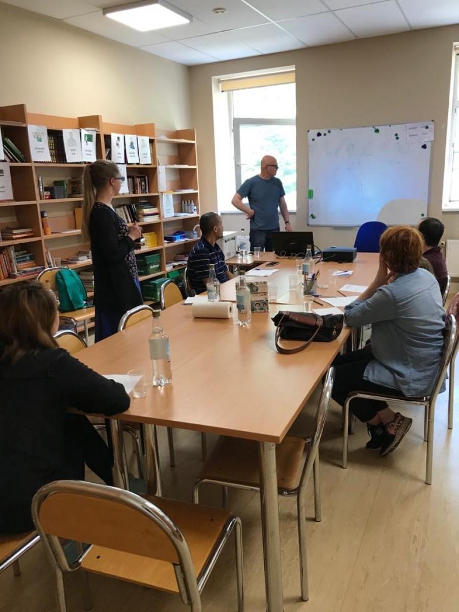 The integration training course 05.06. | Patvērums Drošā Māja