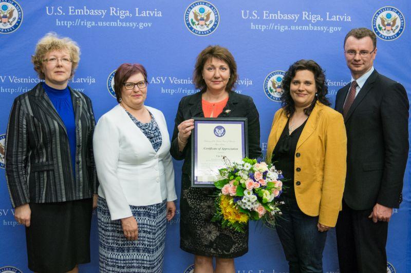 Official reception at The Embassy of The US | Patvērums Drošā Māja