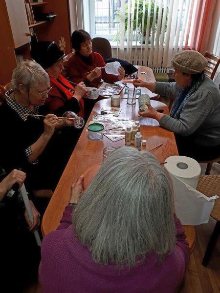 Творческая мастерская для сениоров 17.03. | Patvērums Drošā Māja