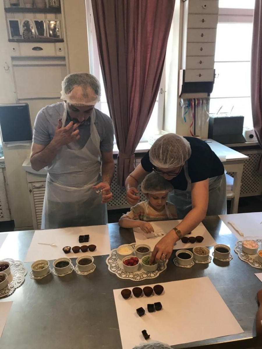 Šokolādes muzeja apmeklējums 19/20.grupa | Patvērums Drošā Māja