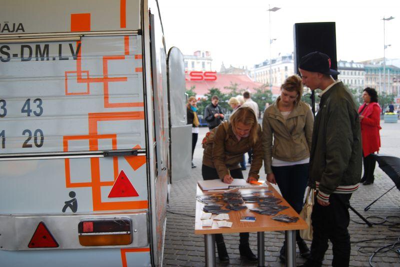 Откритие информативной кампаний в Риге | Patvērums Drošā Māja