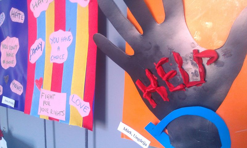 Izstāde par cilvēktirdzniecību RJC Kaņieris | Patvērums Drošā Māja