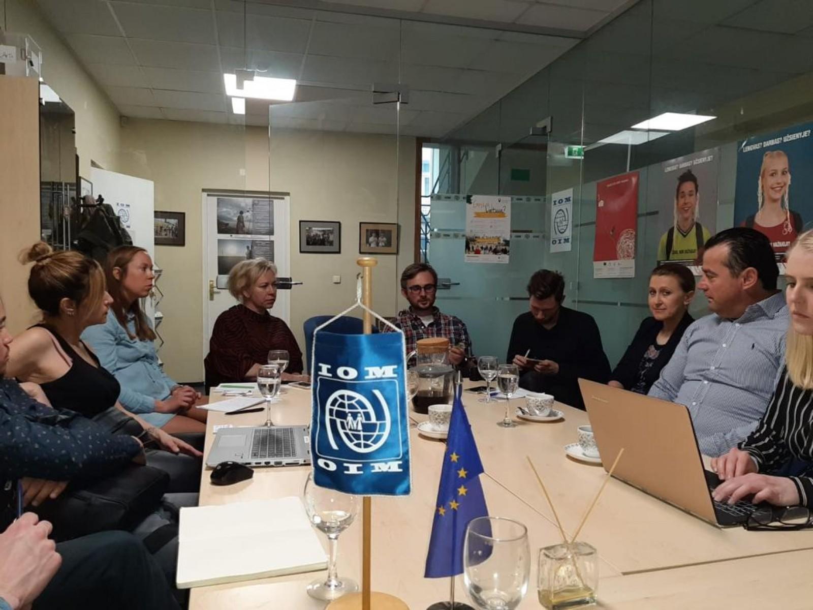 Projekta Migrantu talantu dārzs tikšanās Lietuvā | Patvērums Drošā Māja