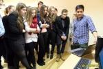 Brīvprātīgie viesojas Rīgas Klasiskajā ģimnāzijā | Patvērums Drošā Māja, nedēļa pret rasismu, brīvprātīgie, integrācija
