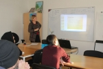 Mācību kurss par Latviju 01.2016.   Patvērums Drošā Māja
