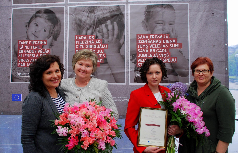 Rasa Saliņa, Lilija Černoriža, Lāsma Stabiņa, Sandra Zalcmane